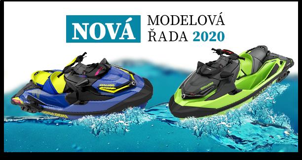 Vodní skútry Sea Doo - modelová řada 2020