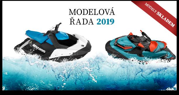 Vodní skútry Sea Doo - modelová řada 2019